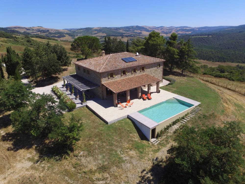 listings of farmhouses for sale volterra countryside