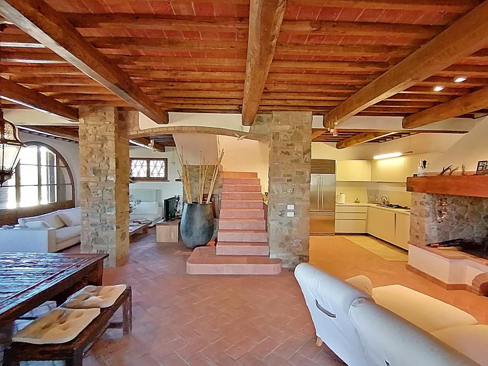 farmhouse at castelfalfi living room
