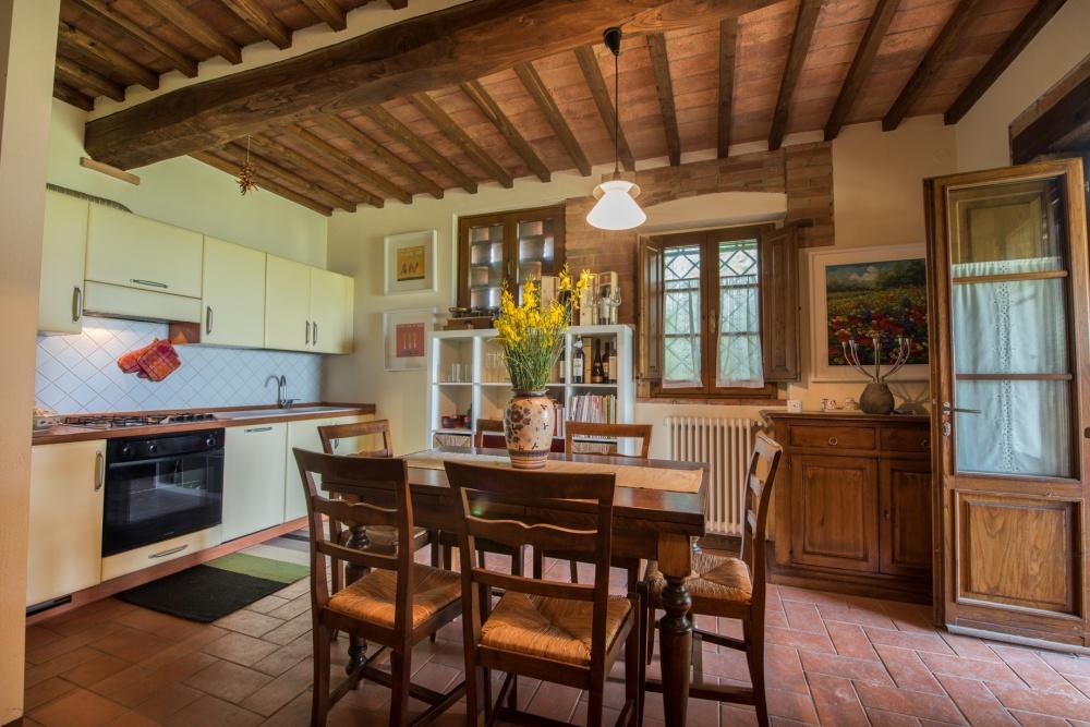 semidetached house castelfalfi kitchen