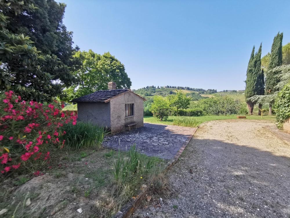 farmhouse san gimignano little annex storage room
